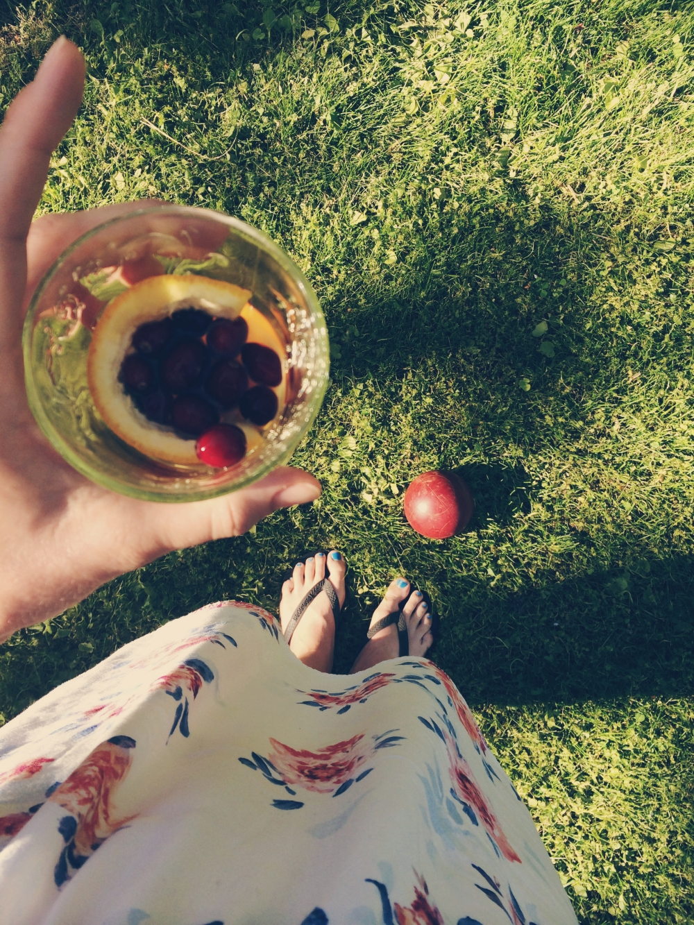 Bocce & Pimms